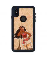 Moana Portrait iPhone XS Waterproof Case