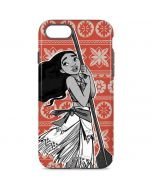 Moana Tropical Print iPhone 8 Pro Case