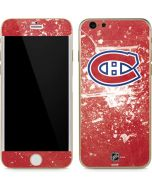 Montreal Canadiens Frozen iPhone 6/6s Skin