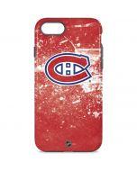 Montreal Canadiens Frozen iPhone 8 Pro Case