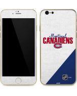 Montreal Canadiens Script iPhone 6/6s Skin