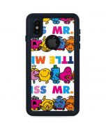 Mr Men Little Miss Characters Bold iPhone XS Waterproof Case