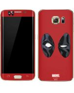 Deadpool Eyes Galaxy S7 Edge Skin