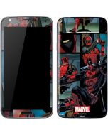 Deadpool Comic Galaxy S5 Skin