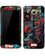 Deadpool Comic Galaxy S7 Edge Skin