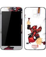 Deadpool Baby Fire Galaxy S5 Skin