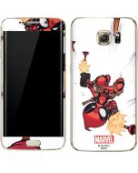 Deadpool Baby Fire Galaxy S7 Edge Skin
