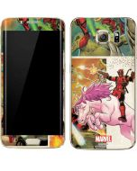 Deadpool Unicorn Galaxy S7 Edge Skin