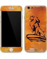 Mufasa Water Color iPhone 6/6s Skin