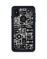 Music Pattern iPhone X Waterproof Case