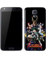 My Hero Academia Main Poster Galaxy S5 Skin