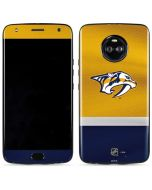 Nashville Predators Alternate Jersey Moto X4 Skin