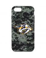 Nashville Predators Camo iPhone 8 Pro Case