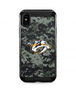Nashville Predators Camo iPhone XS Max Cargo Case