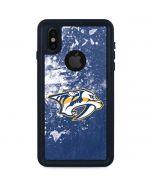 Nashville Predators Frozen iPhone XS Waterproof Case
