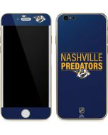 Nashville Predators Lineup iPhone 6/6s Skin