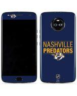 Nashville Predators Lineup Moto X4 Skin