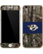 Nashville Predators Realtree Xtra Camo iPhone 6/6s Skin