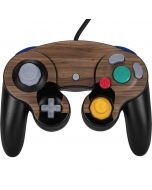 Natural Walnut Wood Nintendo GameCube Controller Skin