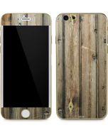 Natural Weathered Wood iPhone 6/6s Skin