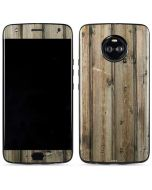 Natural Weathered Wood Moto X4 Skin