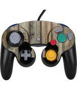 Natural Weathered Wood Nintendo GameCube Controller Skin