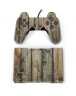 Natural Weathered Wood PlayStation Classic Bundle Skin