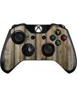 Natural Weathered Wood Xbox One Controller Skin
