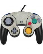 Natural White Concrete Nintendo GameCube Controller Skin