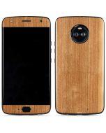 Natural Wood Moto X4 Skin