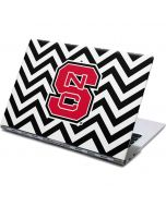 NC State Chevron Print Yoga 910 2-in-1 14in Touch-Screen Skin