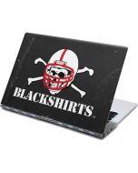 Nebraska Blackshirts Skull Yoga 910 2-in-1 14in Touch-Screen Skin