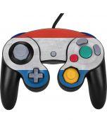 Netherlands Flag Distressed Nintendo GameCube Controller Skin