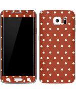 Neutral Polka Dots Galaxy S6 Edge Skin