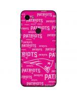 New England Patriots - Blast Pink Google Pixel 3a Skin