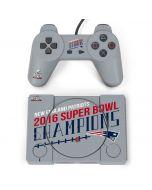 New England Patriots 2016 Super Bowl LI Champions PlayStation Classic Bundle Skin
