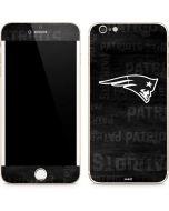 New England Patriots Black & White iPhone 6/6s Plus Skin