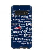 New England Patriots Blast Galaxy S10 Plus Pro Case