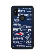 New England Patriots Blast iPhone X Waterproof Case