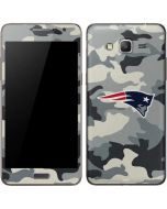 New England Patriots Camo Galaxy Grand Prime Skin