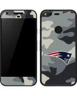 New England Patriots Camo Google Pixel Skin