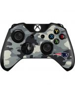 New England Patriots Camo Xbox One Controller Skin