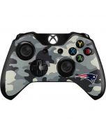 New England Patriots Camo Xbox One Controller Skin