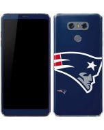 New England Patriots Large Logo LG G6 Skin