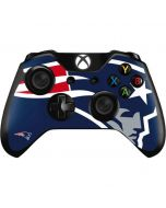 New England Patriots Large Logo Xbox One Controller Skin