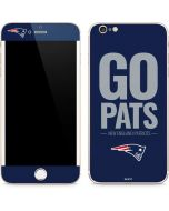 New England Patriots Team Motto iPhone 6/6s Plus Skin