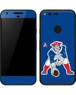 New England Patriots Retro Logo Google Pixel Skin