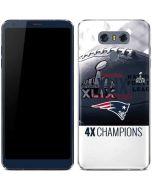 New England Patriots Super Bowl Champs LG G6 Skin