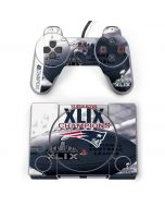 New England Patriots Super Bowl Champs PlayStation Classic Bundle Skin