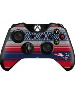New England Patriots Trailblazer Xbox One Controller Skin